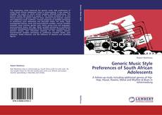 Bookcover of Generic Music Style Preferences of South African Adolescents