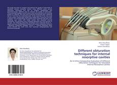 Bookcover of Different obturation techniques for internal resorptive cavities