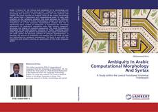 Bookcover of Ambiguity In Arabic Computational Morphology And Syntax