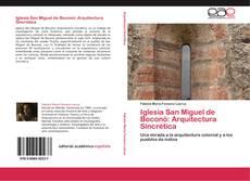 Portada del libro de Iglesia San Miguel de Boconó: Arquitectura Sincrética