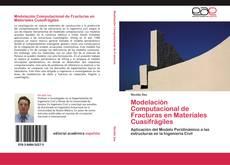 Portada del libro de Modelación Computacional de Fracturas en Materiales Cuasifrágiles