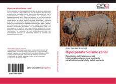 Bookcover of Hiperparatiroidismo renal