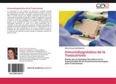 Buchcover von Inmunodiagnóstico de la Toxocariosis