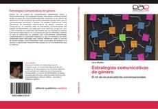 Capa do livro de Estrategias comunicativas de género