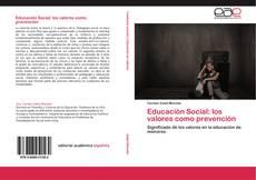 Portada del libro de Educación Social: los valores como prevención