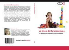 Buchcover von La crisis del funcionalismo