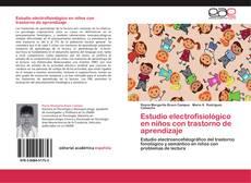 Portada del libro de Estudio electrofisiológico en niños con trastorno de aprendizaje