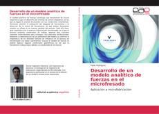 Desarrollo de un modelo analítico de fuerzas en el microfresado kitap kapağı