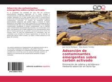 Buchcover von Adsorción de contaminantes emergentes sobre carbón activado