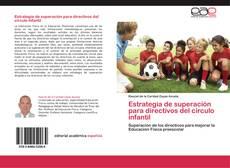 Portada del libro de Estrategia de superación para directivos del círculo infantil