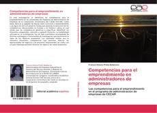 Portada del libro de Competencias para el emprendimiento en administradores de empresas
