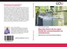Portada del libro de Barrido físico de la capa límite de concentración en membranas