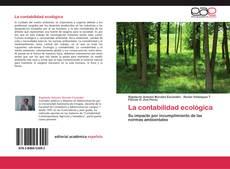 Bookcover of La contabilidad ecológica