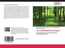Capa do livro de La contabilidad ecológica