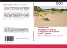 Portada del libro de Ecología del conejo Europeo en un sistema dunar costero