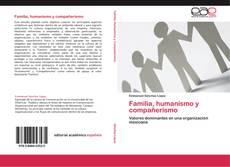 Capa do livro de Familia, humanismo y compañerismo