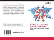 Bookcover of Gestión documental en trabajos fin de grado