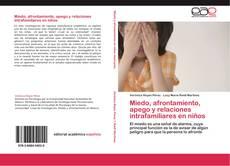 Portada del libro de Miedo, afrontamiento, apego y relaciones intrafamiliares en niños