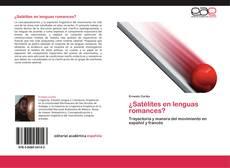 Portada del libro de ¿Satélites en lenguas romances?