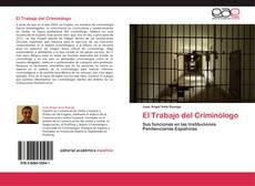Buchcover von El Trabajo del Criminólogo
