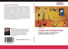Capa do livro de Juegos de la Subjetividad