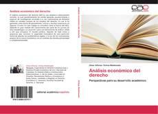 Copertina di Análisis económico del derecho