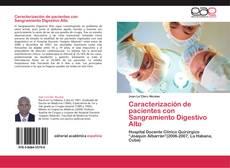 Portada del libro de Caracterización de pacientes con Sangramiento Digestivo Alto