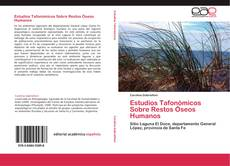 Capa do livro de Estudios Tafonómicos Sobre Restos Óseos Humanos