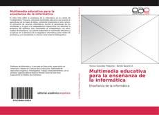 Capa do livro de Multimedia educativa para la enseñanza de la informática