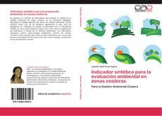 Portada del libro de Indicador sintético para la evaluación ambiental en zonas costeras