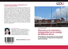 Portada del libro de Derecho a la vivienda y autogestión en la ciudad de Buenos Aires