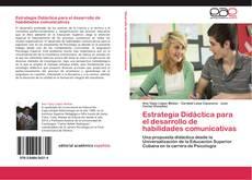 Estrategia Didáctica para el desarrollo de habilidades comunicativas的封面