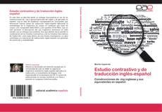 Capa do livro de Estudio contrastivo y de traducción inglés-español
