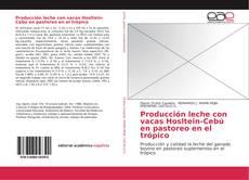 Copertina di Producción leche con vacas Hosltein-Cebú en pastoreo en el trópico