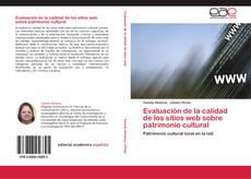 Portada del libro de Evaluación de la calidad de los sitios web sobre patrimonio cultural