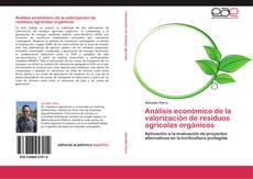 Portada del libro de Análisis económico de la valorización de residuos agrícolas orgánicos