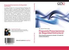 Обложка Propuesta Prescripciones de Seguridad Estructural