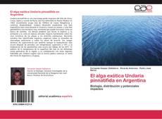 Buchcover von El alga exótica Undaria pinnatifida en Argentina