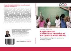 Portada del libro de Experiencias didácticas novedosas en centros educativos