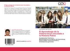 Buchcover von El Aprendizaje de la historia local vinculada a la Historia Patria