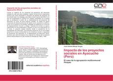Impacto de los proyectos sociales en Ayacucho (Perú) kitap kapağı