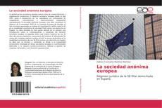 Couverture de La sociedad anónima europea