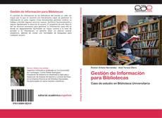 Copertina di Gestión de Información para Bibliotecas