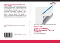 Buchcover von Diseño de Programaciones Didácticas para Física y Química