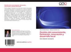 Portada del libro de Gestión del conocimiento, formación, innovación y desarrollo local