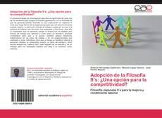 Portada del libro de Adopción de la Filosofía 9's: ¿Una opción para la competitividad?