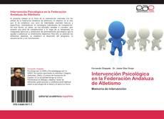 Portada del libro de Intervención Psicológica en la Federación Andaluza de Atletismo