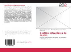 Bookcover of Gestión estratégica de costos