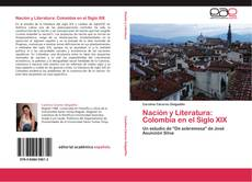 Portada del libro de Nación y Literatura: Colombia en el Siglo XIX