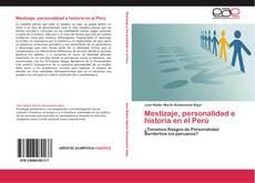 Mestizaje, personalidad e historia en el Perú的封面